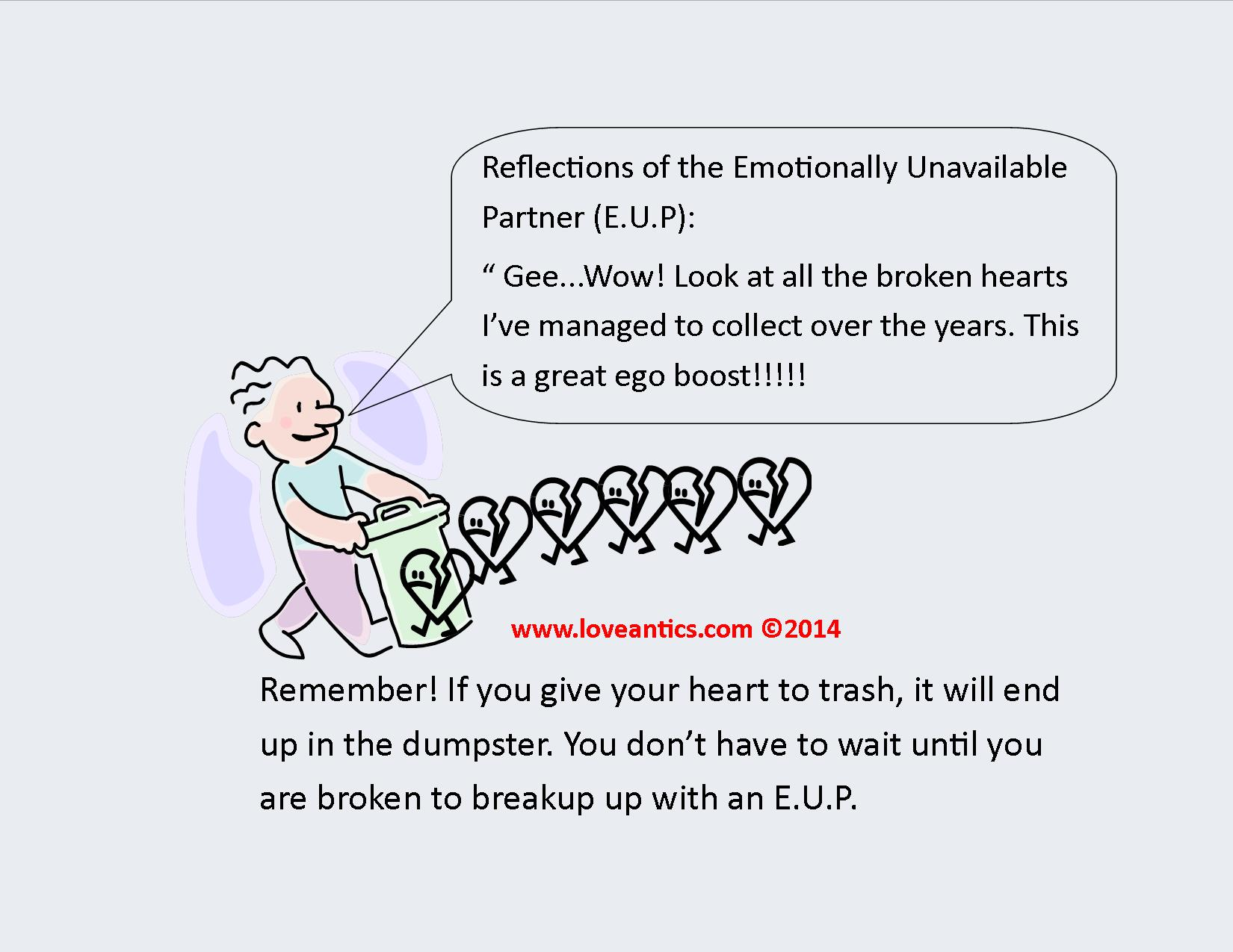 How to deal with an unemotional man