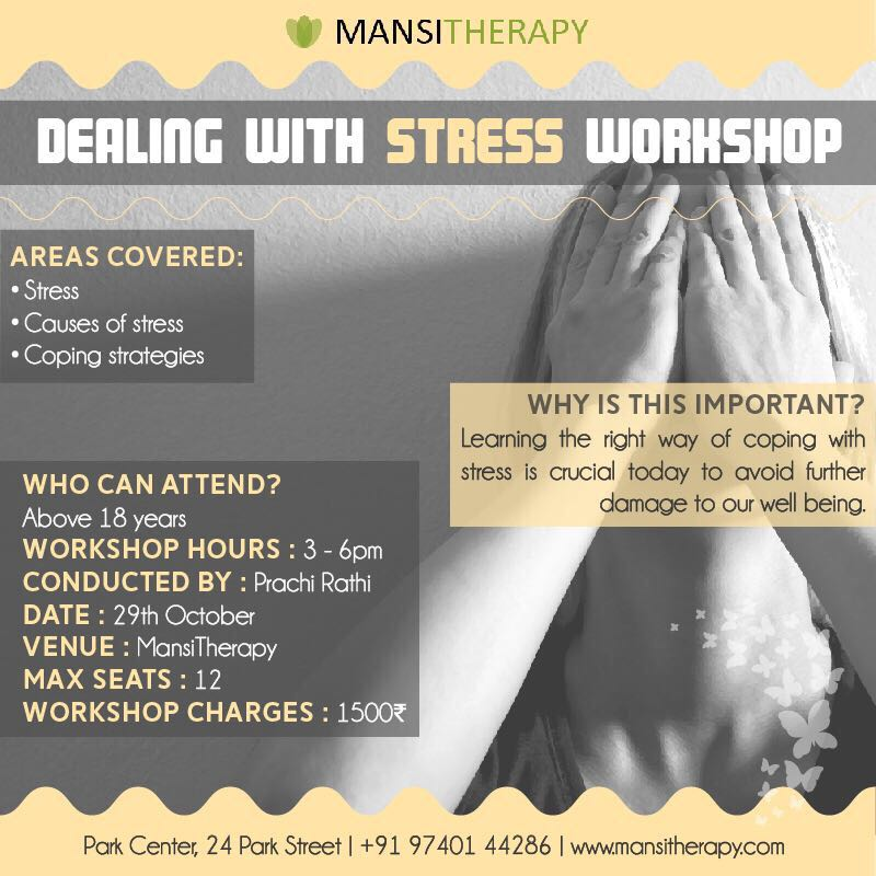 Learn how to live stress - free with this Mansi Therapy special workshop
