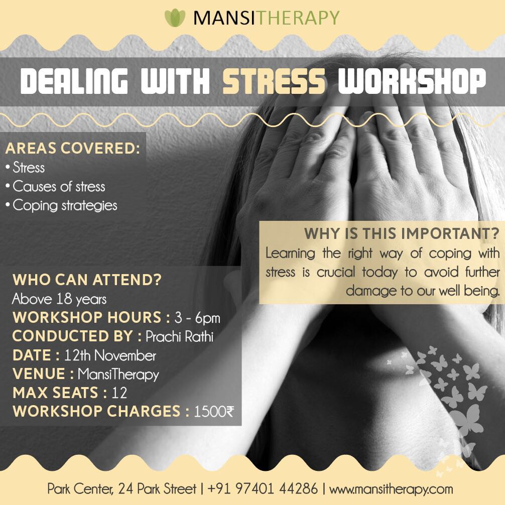 Learn how to live stress – free with this Mansi Therapy special workshop (Chapter - 2)